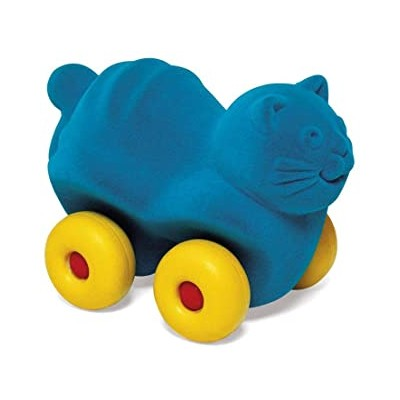 ANIMAUX ROULANTS 15 CM - CHAT - RUBBABU