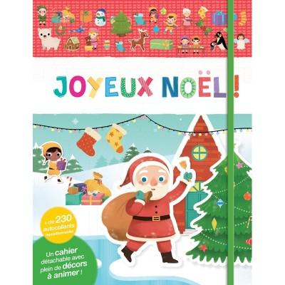 JOYEUX NOEL CAHIER D'AUTOCOLLANTS - AUZOU