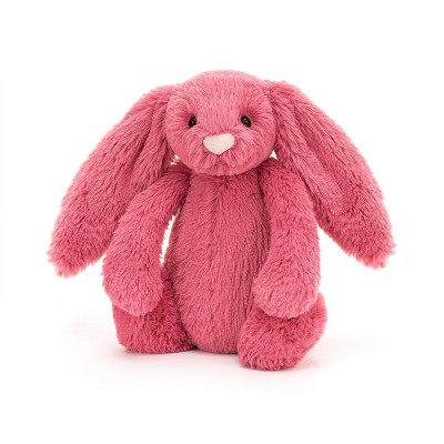 BASHFUL LAPIN CERISE MEDIUM - 31CM -JELLYCAT