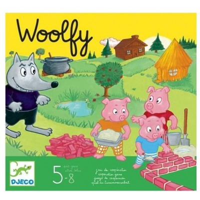JEU DE SOCIETE - WOOLFY - DJECO