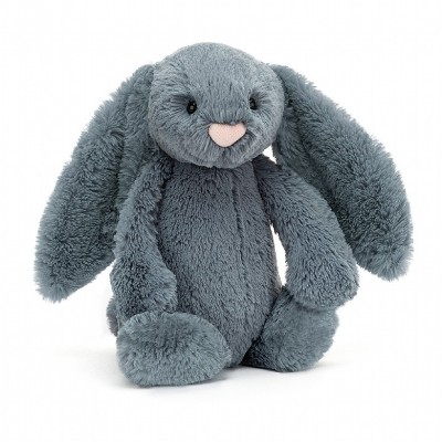 BASHFUL LAPIN BLEU DUSK MEDIUM - 31 CM - JELLYCAT