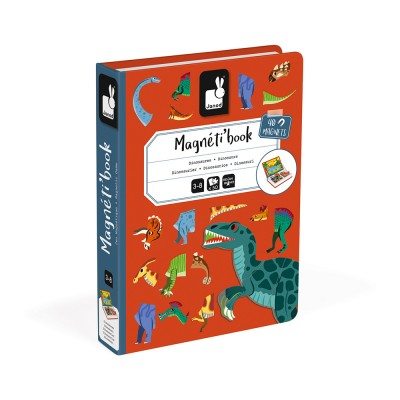 MAGNETI'BOOK DINOSAURES  - JANOD