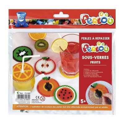 KIT PERLOU SOUS VERRES - FRUITS - GRAINE CREATIVE