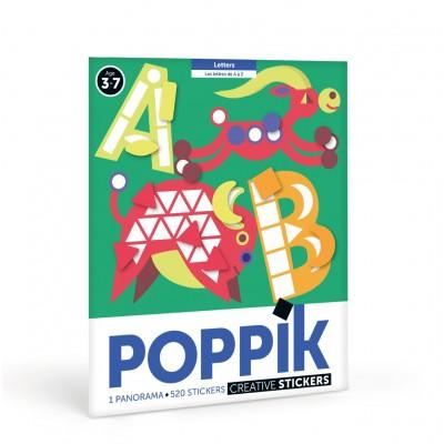 PANORAMA ABC LETTRES - POPPIK