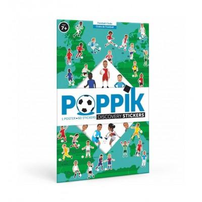 POSTER FOOTBALL EUROPEEN - POPPIK