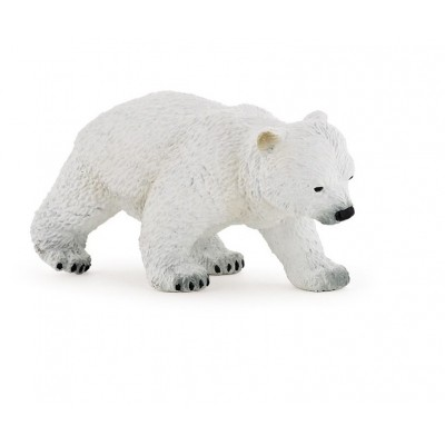 FIGURINE BEBE OURS POLAIRE MARCHANT - PAPO