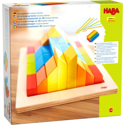 JEU D ASSEMBLAGE CREATIVE STONES - HABA