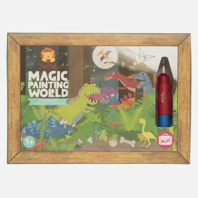 MAGIC PAINTING WORLD - DINOSAURE - TIGER TRIBE