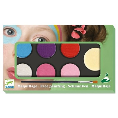 COFFRET MAQUILLAGE - PALETTE 6 COULEURS - SWEET- DJECO