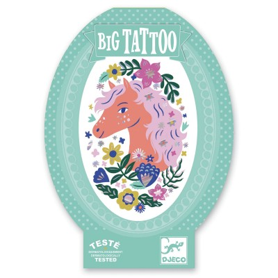TATOUAGES - BIG TATTOOS - POETIC HORSE - DJECO