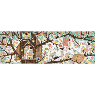 PUZZLE GALLERY TREE HOUSE- 200 PCS - DJECO