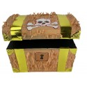 PINATA COFFRE PIRATE 30X27X23