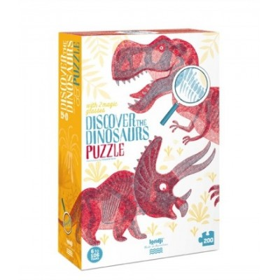 PUZZLE - DISCOVER THE DINOSAURS - LONDJI