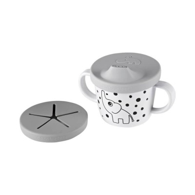 TASSE BEC SILICONE GRIS - DONE BY DEER