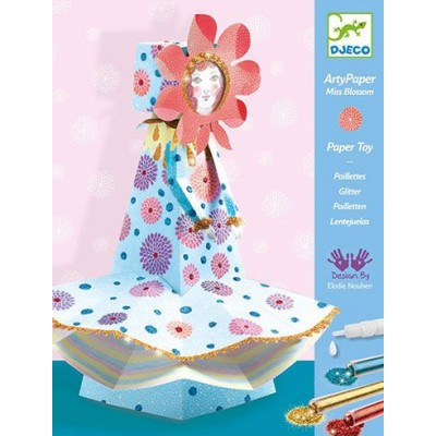 ARTY PAPER MADEMOISELLE BLOSSOM - Djeco