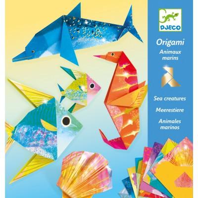 ORIGAMI - ANIMAUX MARINS- DJECO
