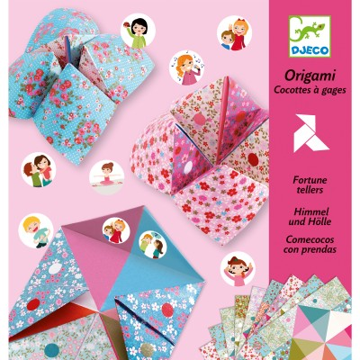 ORIGAMI - COCOTTES A GAGES - DJECO- DJECO