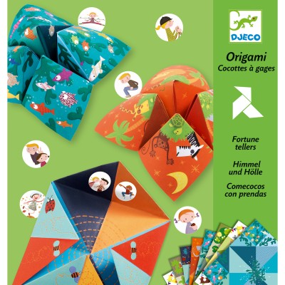 ORIGAMI - COCOTTES A GAGES ANIMAUX- DJECO
