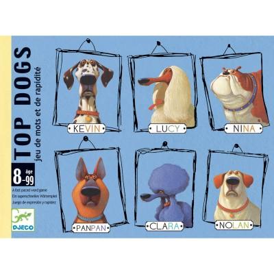 JEU DE CARTES TOP DOGS - DJECO