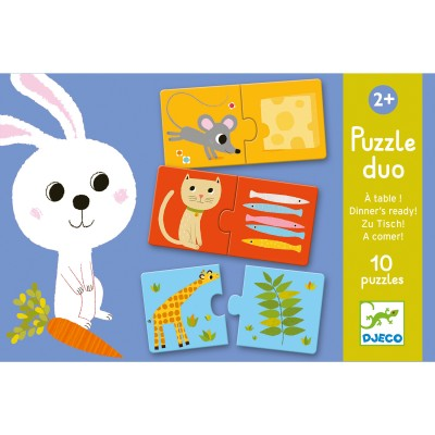 PUZZLE DUO A TABLE ! - DJECO