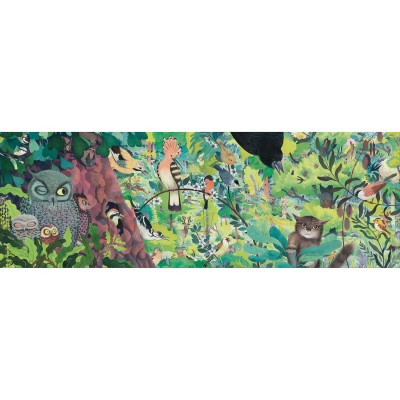 PUZZLE GALLERY OWLS AND BIRDS - 1000 PCS - DJECO