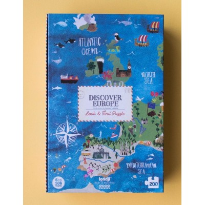 PUZZLE - DISCOVER EUROPE - LONDJI