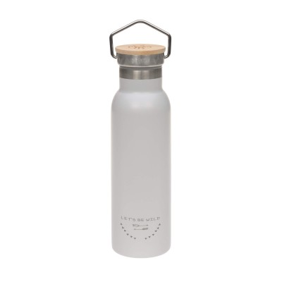 BOUTEILLE THERMOS 460 ML ADVENTURE GRIS - LASSIG