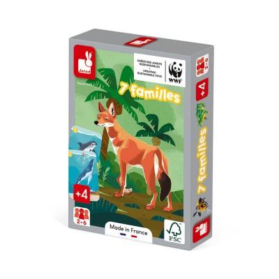 7 FAMILLES : LE REGNE ANIMAL - WWF - JANOD