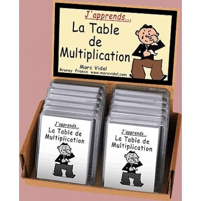 J'APPRENDS... LA TABLE DE MULTIPLICATION