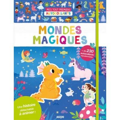 STICKERS MONDE MAGIQUE - AUZOU