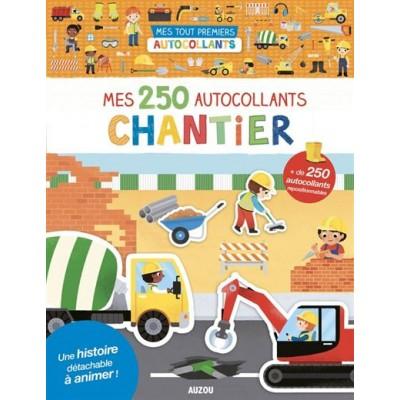 MES 250 AUTOCOLLANTS CHANTIER - AUZOU