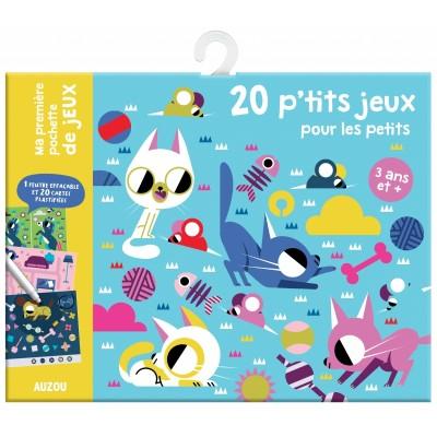 20 P'TITS JEUX POUR LES PETITS- AUZOU