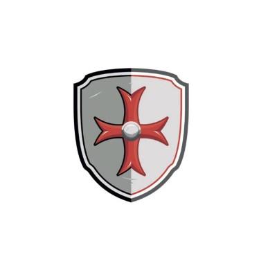 BOUCLIER CROIX DE MALTE - PAPO