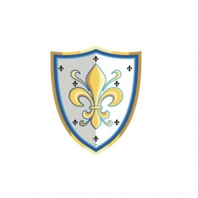BOUCLIER FLEUR DE LYS - PAPO