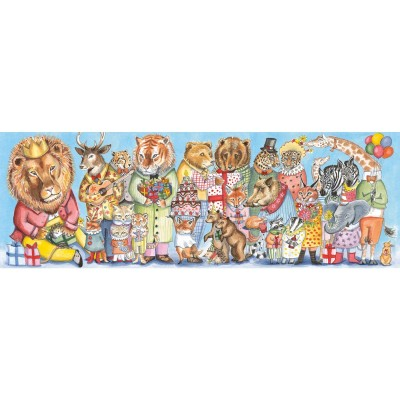 PUZZLE GALLERY KING'S PARTY - 100 PCS -DJECO