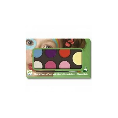 COFFRET MAQUILLAGE - PALETTE 6 COULEURS - SWEET - DJECO