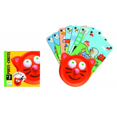 CHAT PORTE CARTES - DJECO