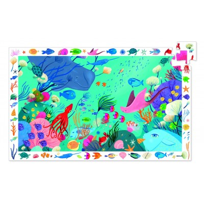 PUZZLE OBSERVATION AQUATIQUE - 54 PCS- DJECO