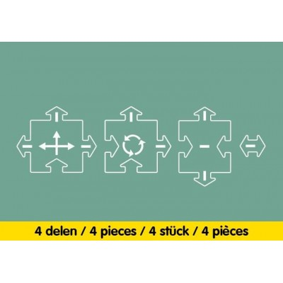 INTERSECTIONS 4PCS - WAY TO PLAY