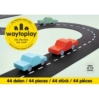 KING OF THE ROAD 44 PCS  648CM - WAY TO PLAY