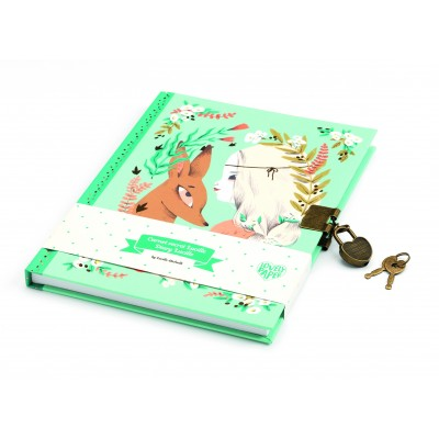 CARNET SECRET LUCILLE - JOURNAL INTIME - DJECO