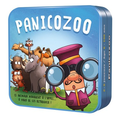 PANICOZOO - cocktail games