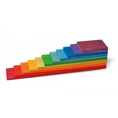 PLANCHETTES rectangulaires ARC EN CIEL - GRIMM'S