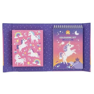 COFFRET COLORIAGE LICORNE - Tiger Tribe