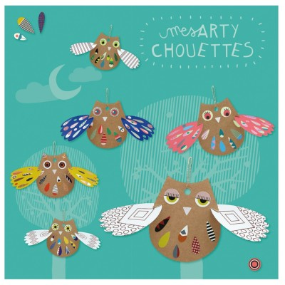 CHOUETTE A DECORER - PIROUETTE CACAHOUETE