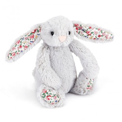 BLOSSOM LAPIN ARGENT BABY 13CM - JELLYCAT