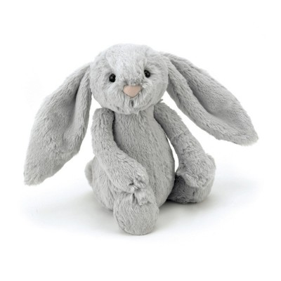 BASHFUL LAPIN ARGENT MEDIUM - 31cm - JELLYCAT