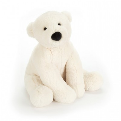 OURS POLAIRE - PERRY MEDIUM 38 CM - JELLYCAT