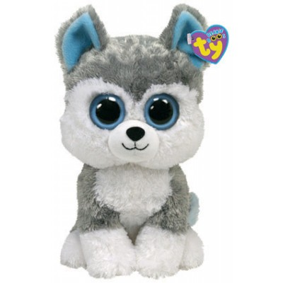 BEANIE BOO'S MEDIUM - SLUSH LE CHIEN - TY