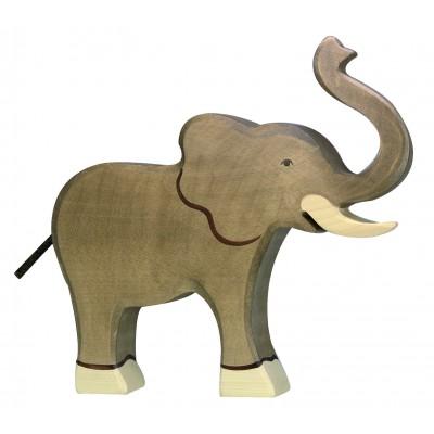 ELEPHANT, TROMPE HAUTE - Holztiger